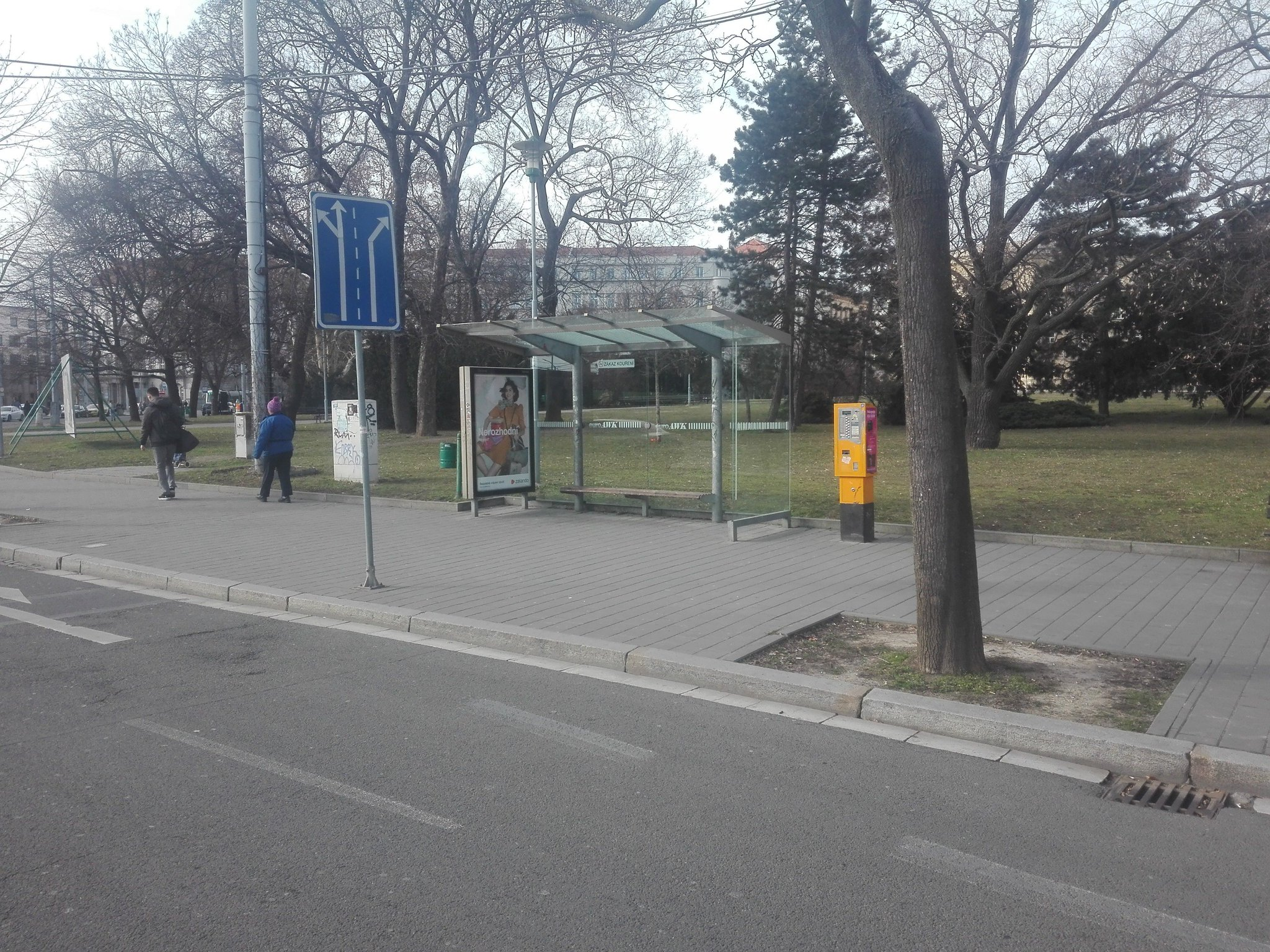 Zastávka Moravské náměstí. Foto: Patrik Švec