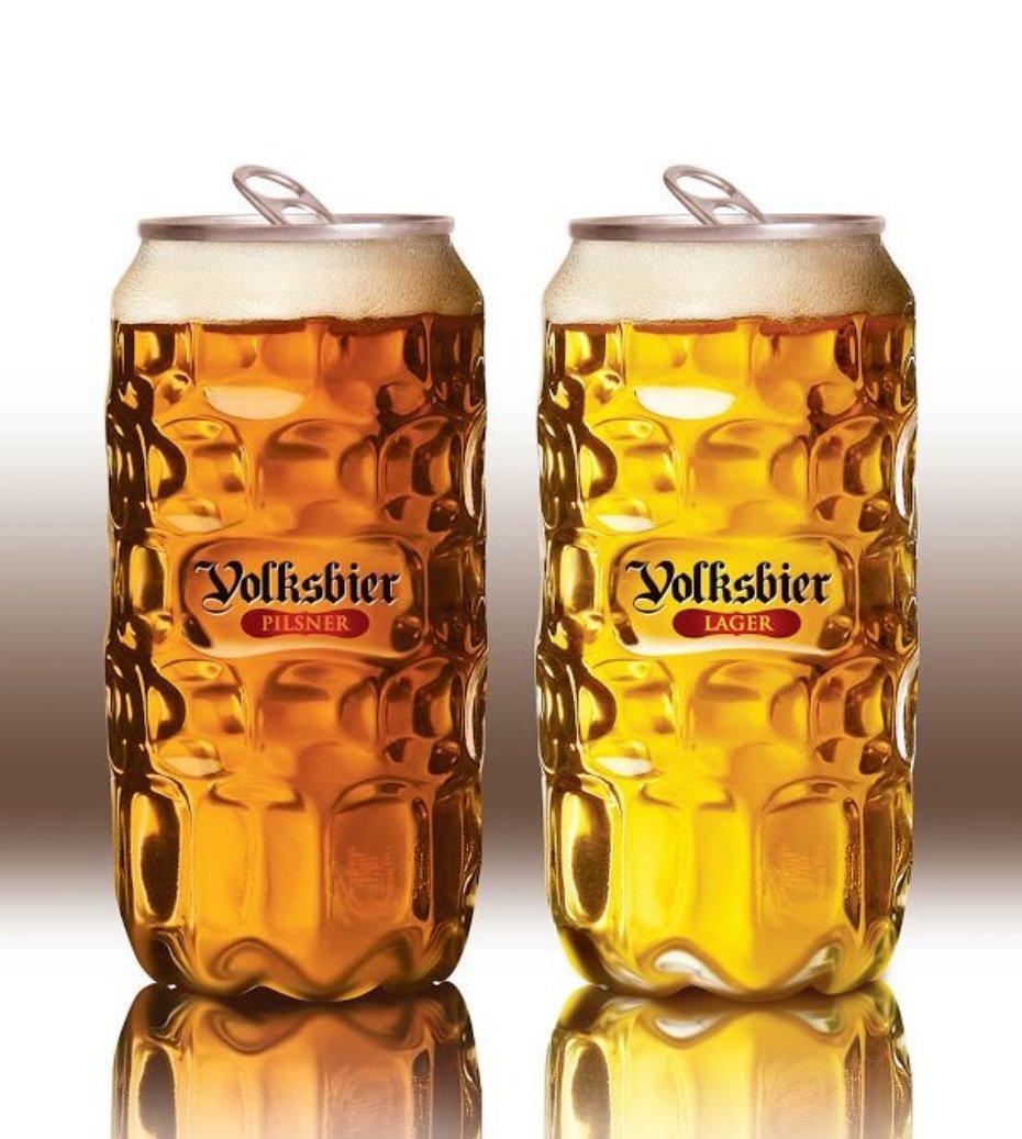 「なぜ缶ビールは瓶ビールと違って、その美しい姿を外に見せないのか?」という疑問から始まった、革新的な缶ビールを作るプロジェクト『Volksbier』。 こちら、上部以外はガラスに見せかけたプラスチックでできています。実現と発売が待ち遠しいですね。
