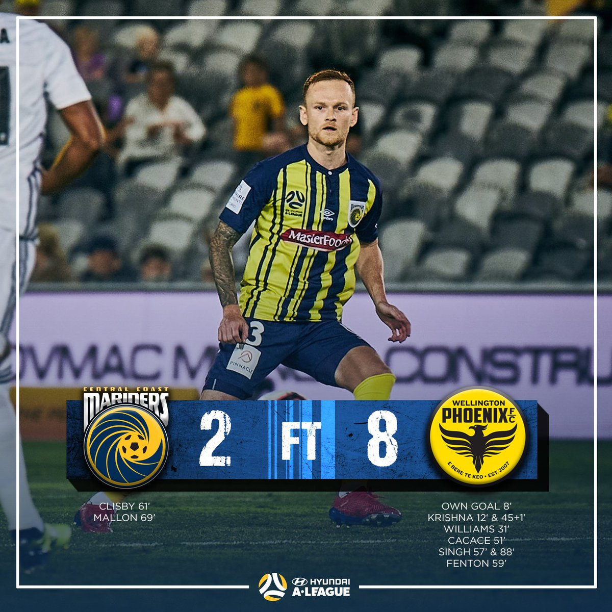 Central Coast Mariners's photo on #ccmfc