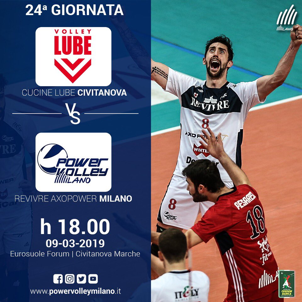 GameDay Cucine Lube Civitanova 09.03.2019 Ore 18.00 ...