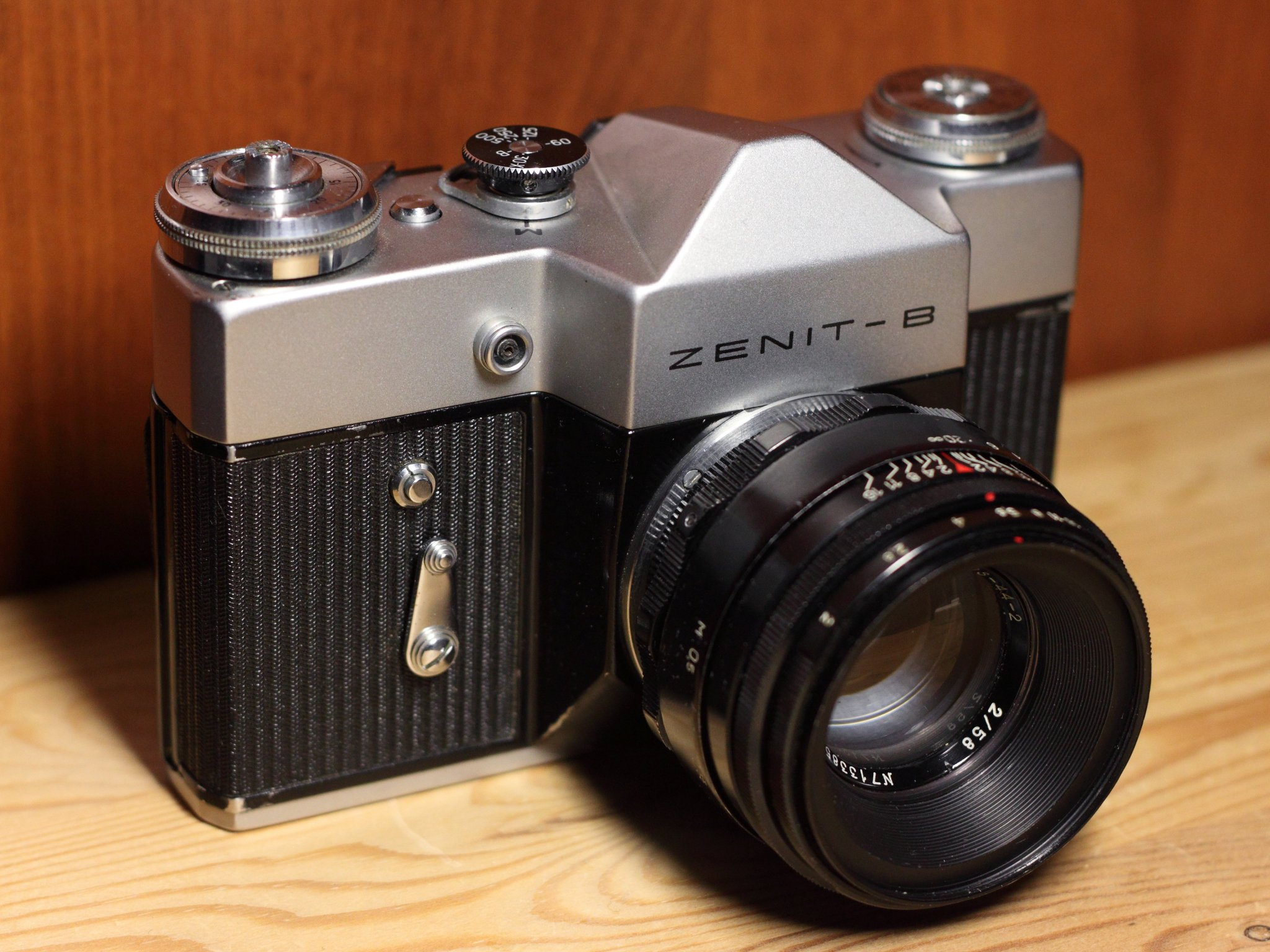 как можно использовать старый фотоаппарат зенит сказала