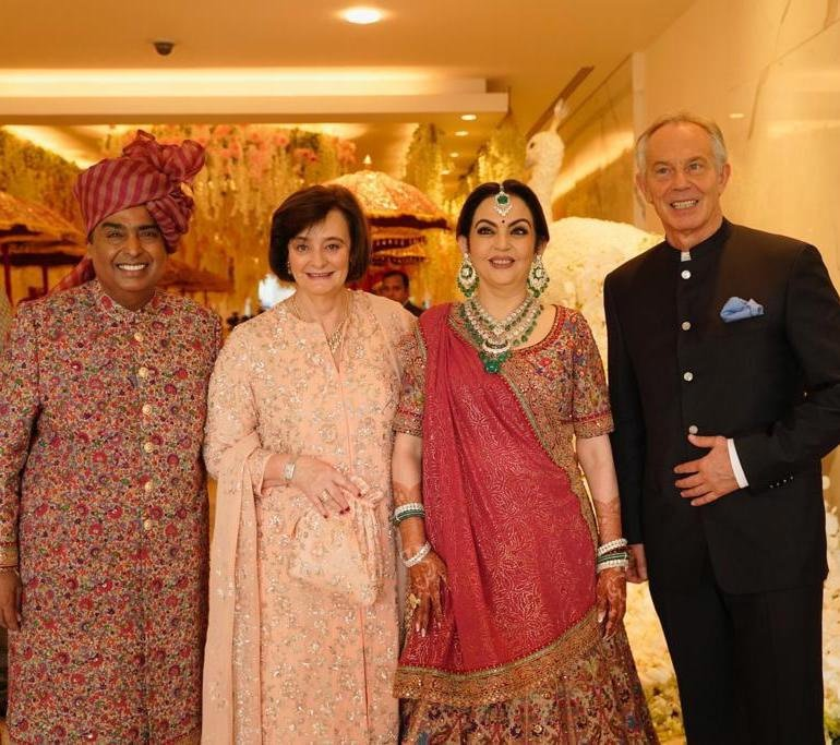 Akash Ambani weds Shloka Mehta: The biggest Gujarati wedding ceremony of the year begins in Mumbai