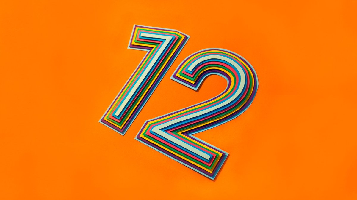 Wow. Doesn't seem that long ago but there you have it. 12 years on Twitter. #MyTwitterAnniversary