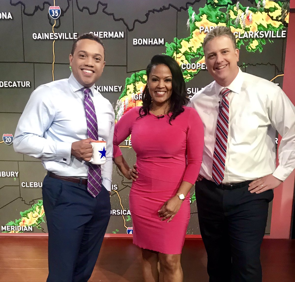 Things are looking up now after strong storms moved through DFW this morning. Many of us now seeing sunshine ☀️ But all of us aren't out the woods just yet - Join us, right now! @NBCDFW @NBCDFWWeather @GrantJNBC5 @KeishaBurnsNBC5