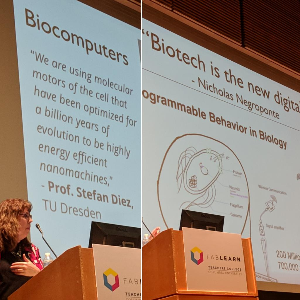 test Twitter Media - #biohacks is the new digital. #biomaking at #fablearn conference NYC by @smartinez https://t.co/6A4S26pTOR
