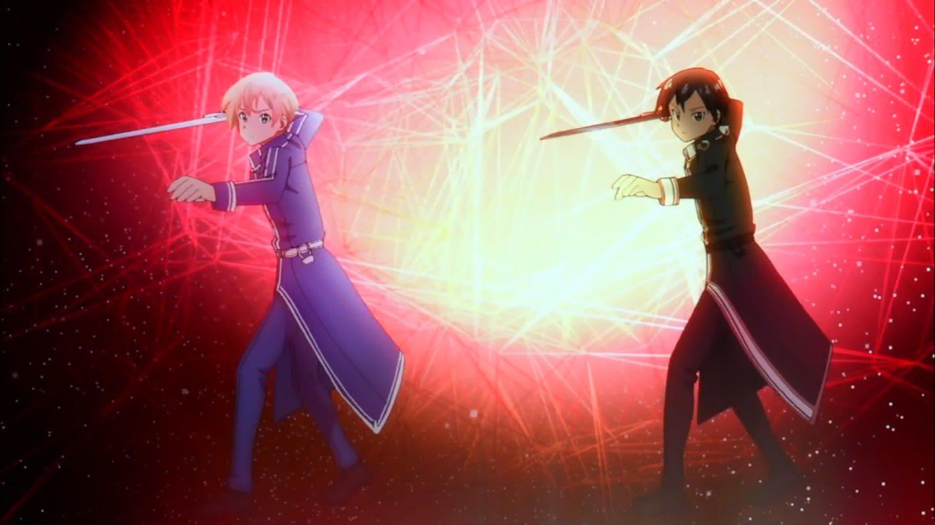 OP変わってて泣いた…… #sao_anime https://t.co/HEEfXlPNkr