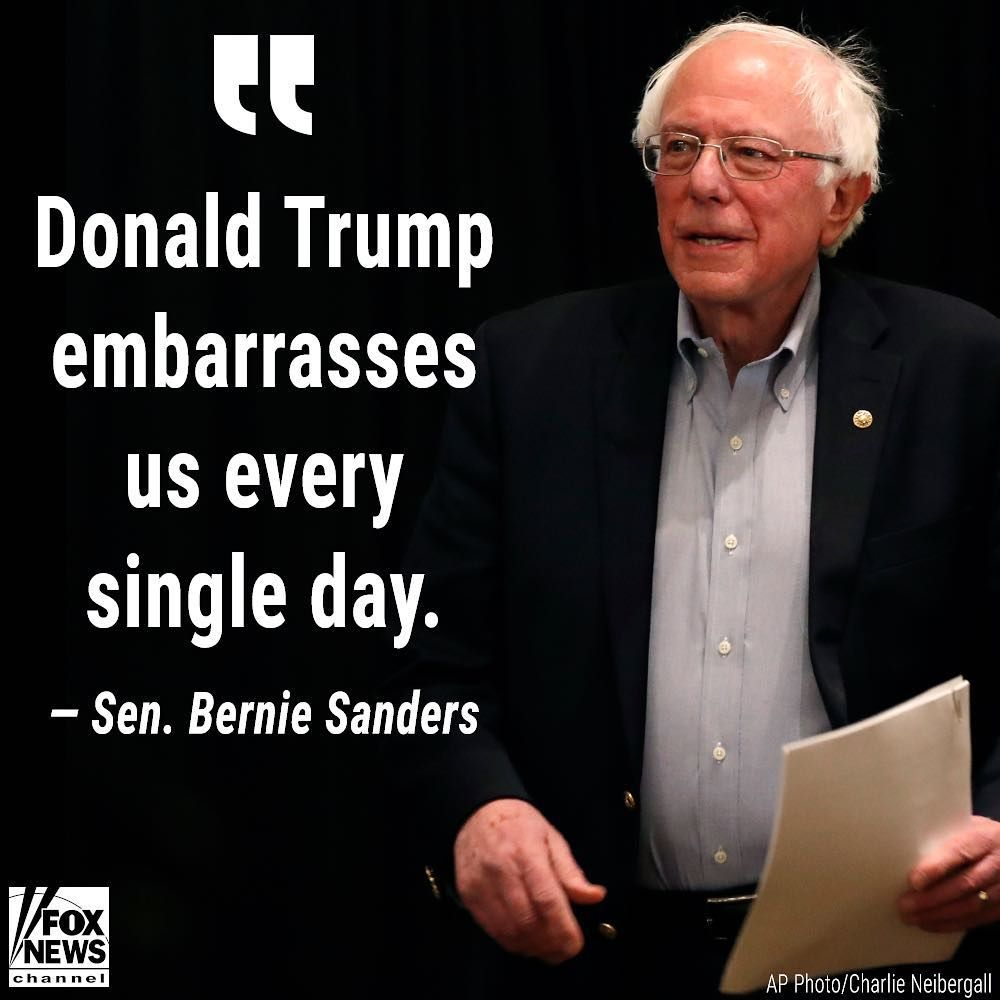 Yeah it's embarrasses you @SenSanders because @realdonaldtrump is smart than you & the hero of every americans & he is most loved person & lives in the core of every american's heart. ❤️  He is working hard for the American people. #MAGA 🇺🇸 #KAG 🇺🇸 #America 🇺🇸 #POTUS 🇺🇸 #USA 🇺🇸