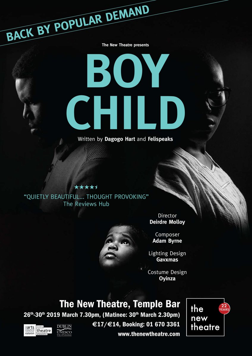 BOYCHILD IS BACK, BABY!! 🔥🔥 26th - 30th March!x  TIX LINK: https://thenewtheatre.ticketsolve.com/shows/873602690  EVENT PAGE: https://www.facebook.com/events/426158238147818/?ti=cl …