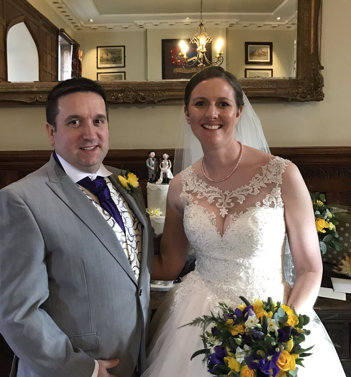 Today we are celebrating the wedding of our Chair, Debbie, and one of our committee members, Chris. Congratulations Debbie and Chris. Wishing you a long and happy life together ❤️ #Congratulations #Wedding #LookWhatRAFWARMAdid