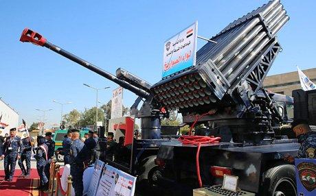 رئيس اركان الجيش العراقي يفتتح معرض الامن والدفاع ويؤكد أن شركة الصناعات الحربية العراقية بدأت بالتنفس D1Otlo3X0AAoRh1