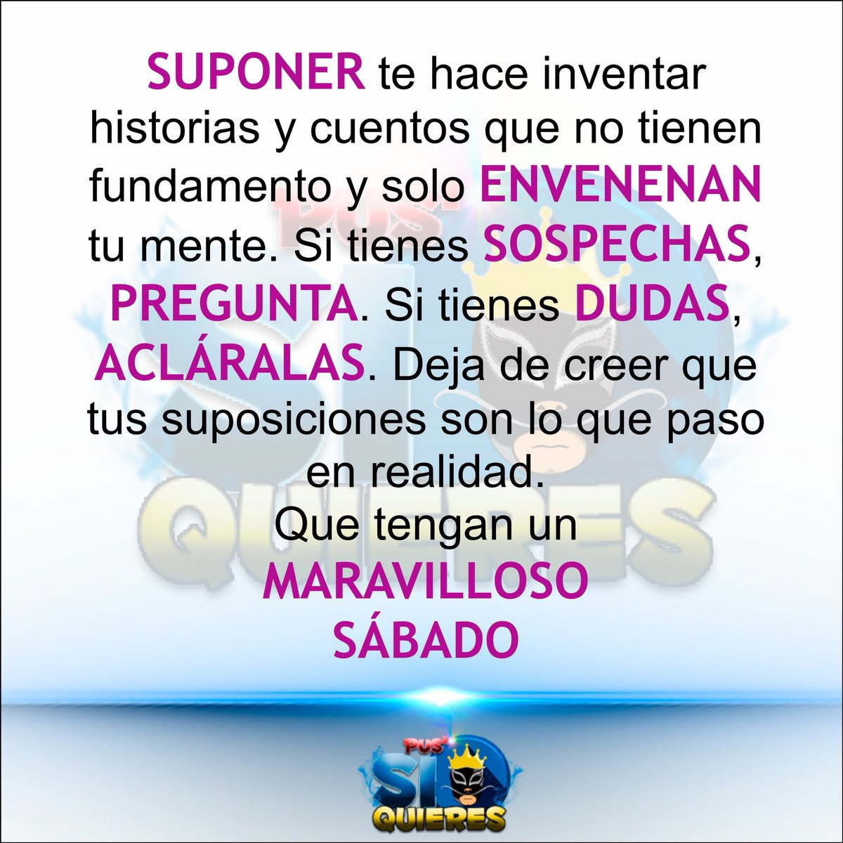 Pus Si Quieres On Twitter Buenosdias Sabado Frases