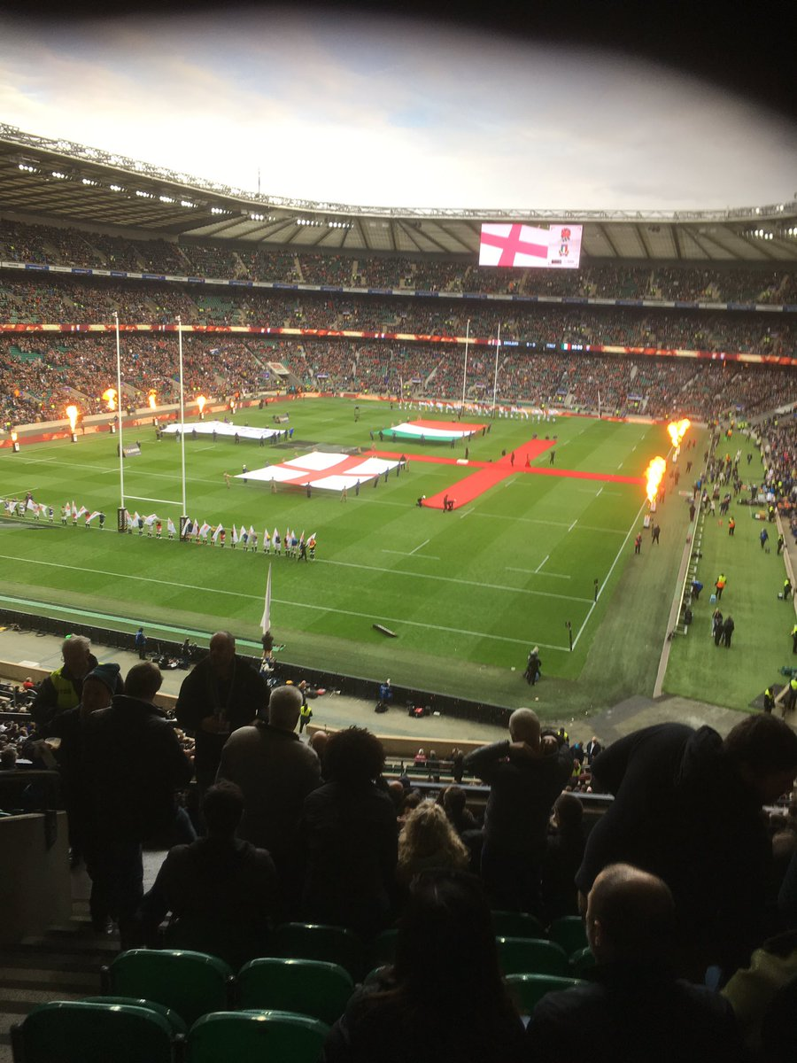 test Twitter Media - At Twickenham today come on  England https://t.co/1cY4v7PyIW