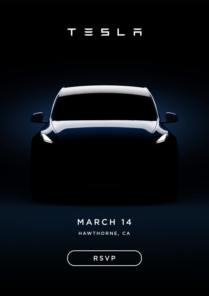 This is an amazing Tesla Easter egg. Look what happens when you increase the contrast on the image to get a better look at Model Y. 😂