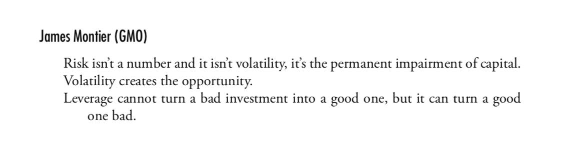 Risk & Volatility & Leverage