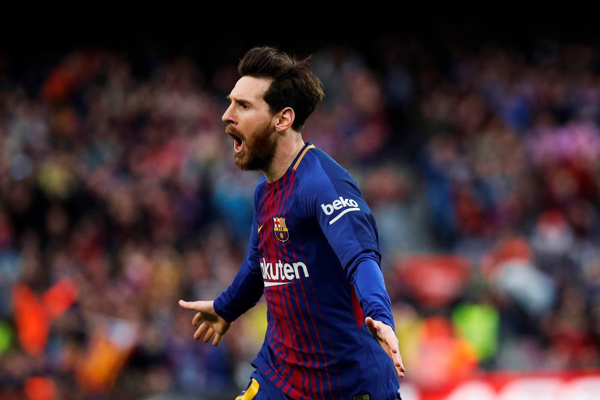 برشلونة يفوز على رايو فاليكانو بثلاية لهدف