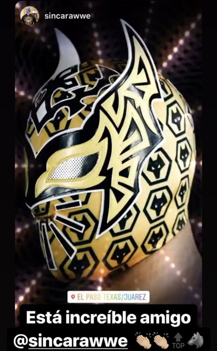 Sin Cara On Twitter Wishing At Wolves And My Friend