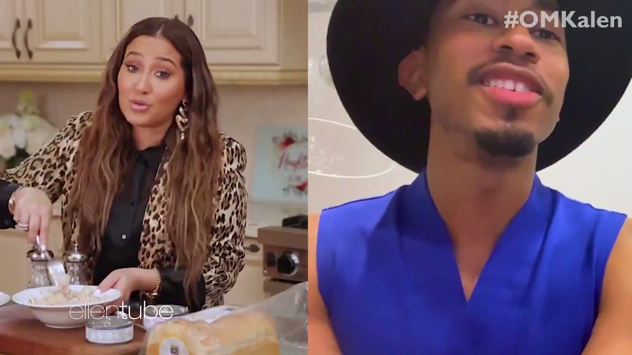 Do fruit punch and tuna fish salad go together? @TheKalenAllen and @AdrienneBailon find out! #OMKalen https://t.co/L1DDMesexn