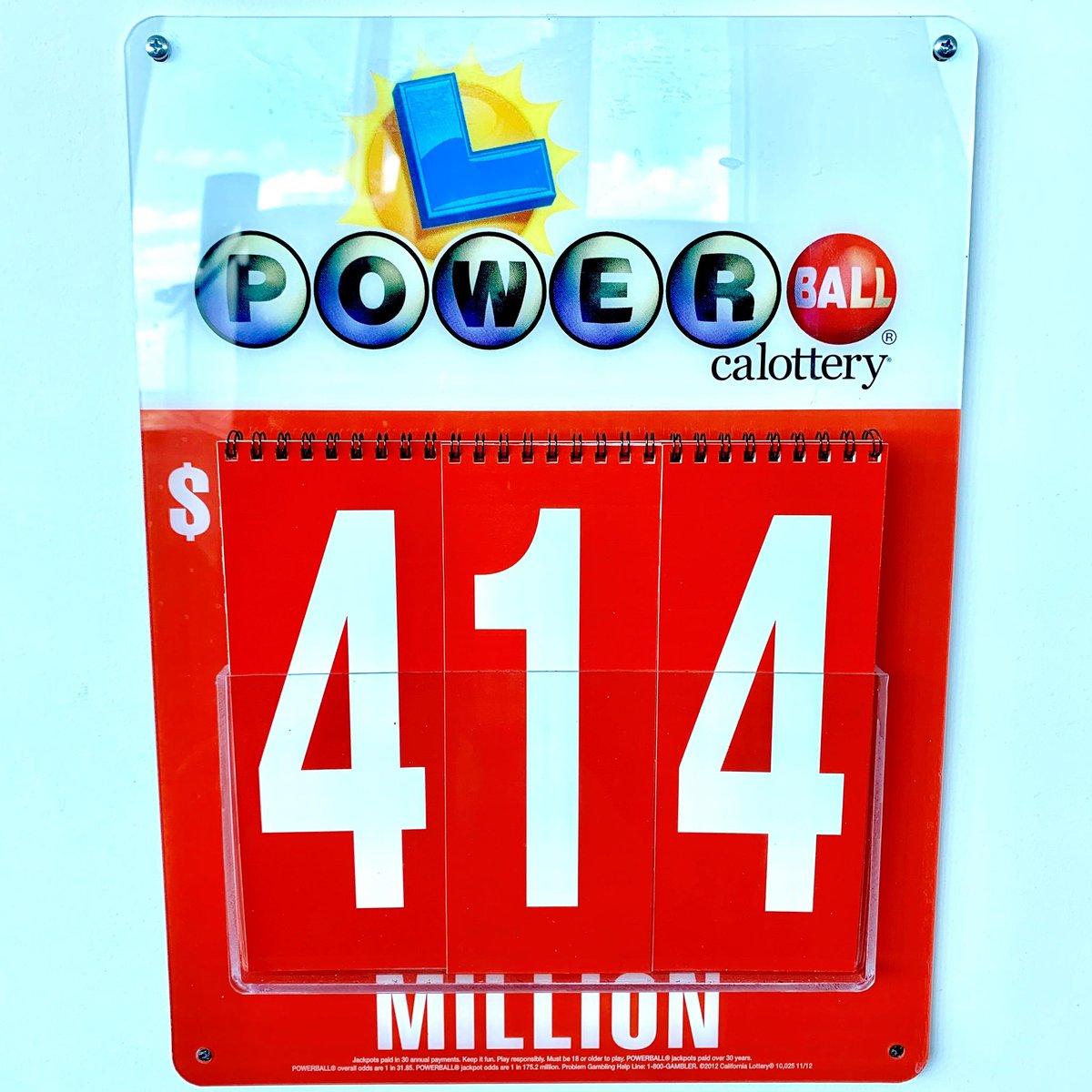 California Lottery On Twitter Tonight S Jackpot Is The 16th
