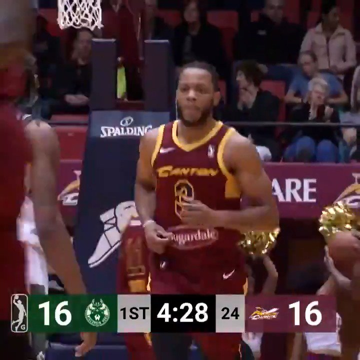 #2WayPlayer Jaron Blossomgame (@JaronBgame) POWERED the @CantonCharge offense on Saturday with 28 PTS, 8 REB & 5 AST 💪  @ClemsonMBB ↗️ @CantonCharge ↔️ @cavs