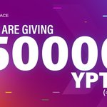 Image for the Tweet beginning: We are giving 50000 YPTO