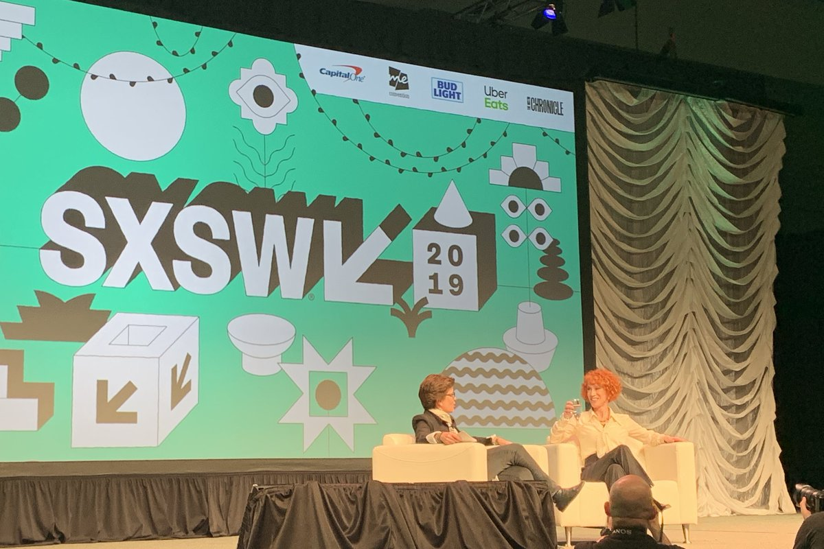 Don't miss @karaswisher's interview with @kathygriffin at SXSW. Subcribe to Recode Decode: