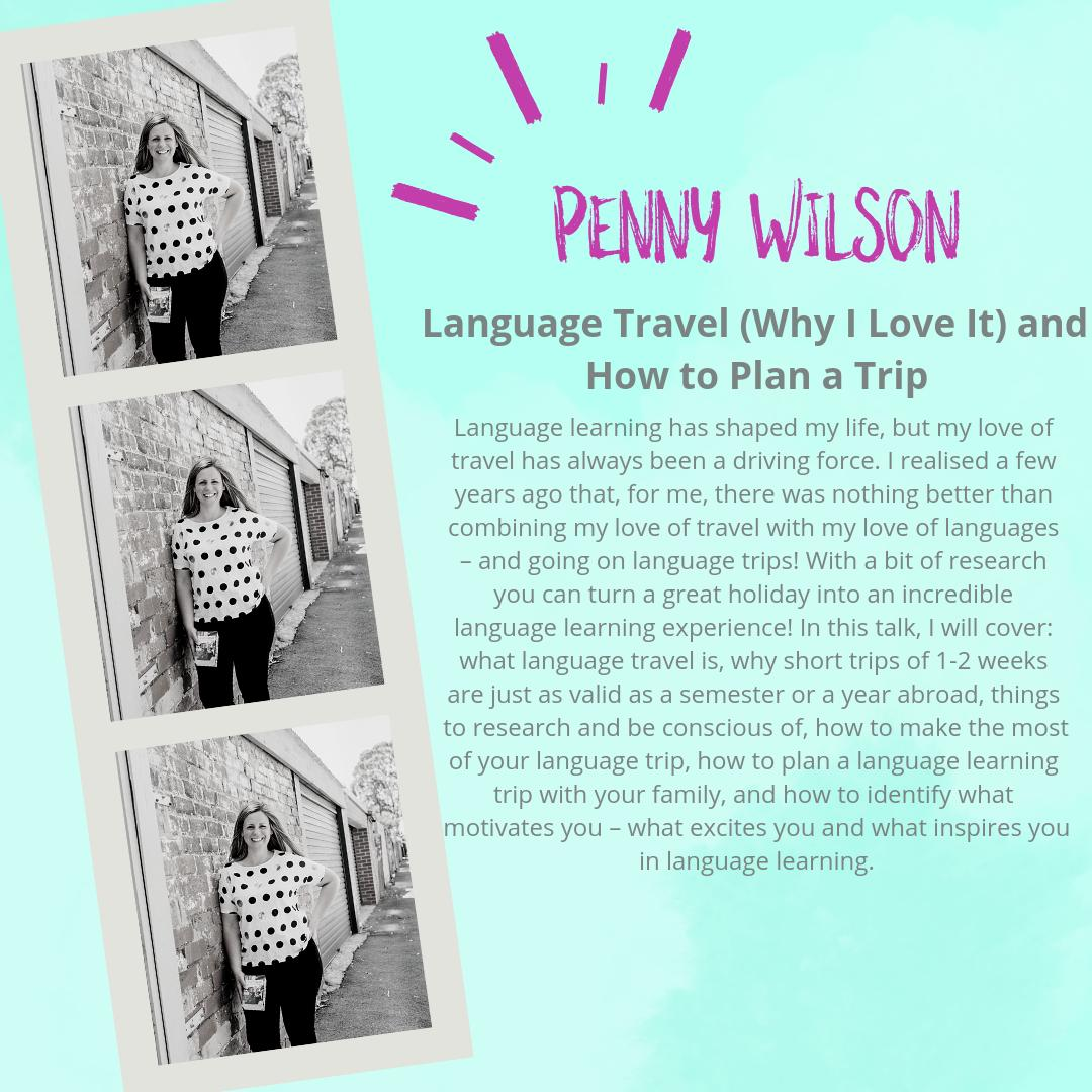 Language Travel - Why do we love it so? How does it work? Do you need language schools or is immersion the way to go? Join Penny Wilson (Lingomama) today as she joins us from halfway round the world. womeninlanguage.com #womeninlanguage