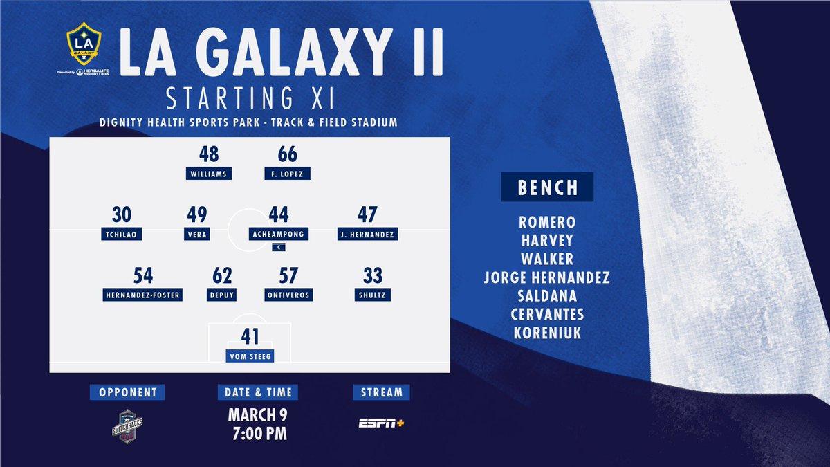 2019 LA Galaxy II season