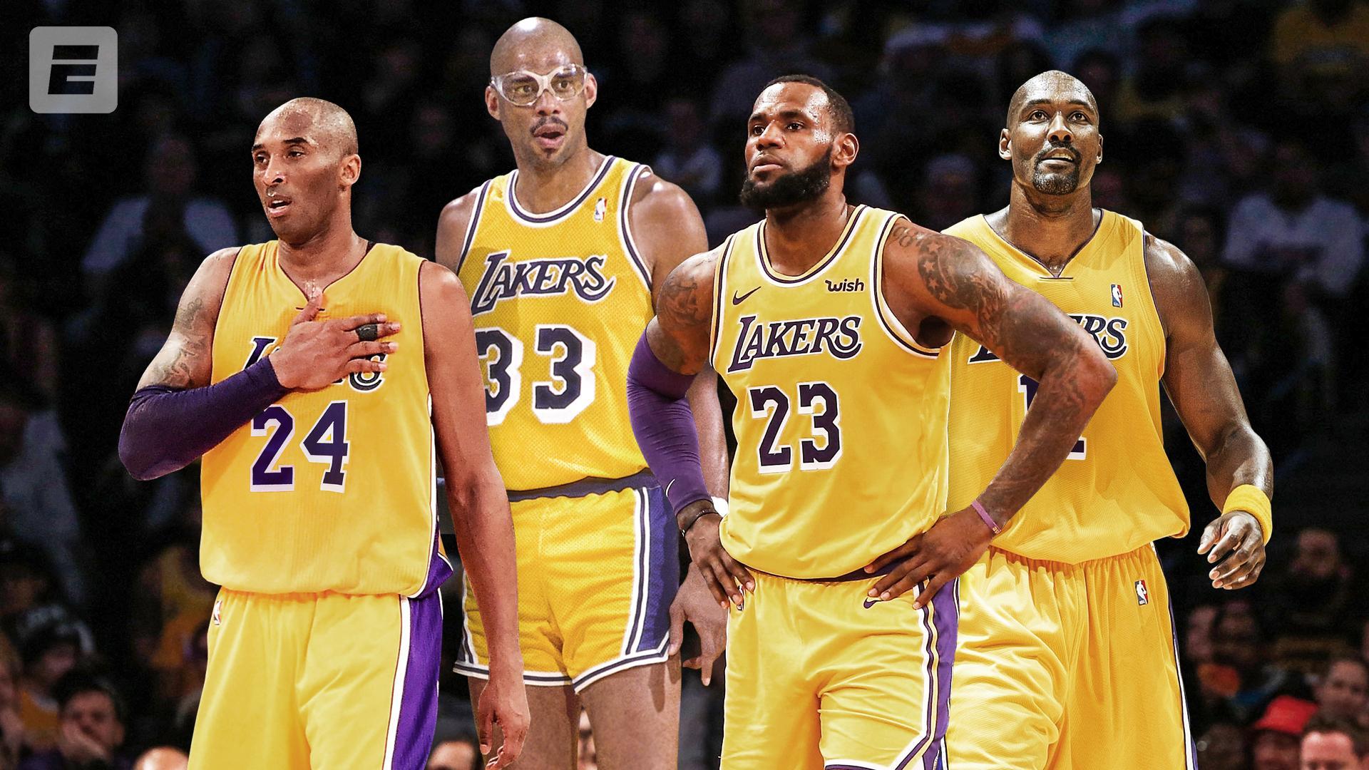 The top 4 leading scorers in NBA history. https://t.co/laj2WXZfLv