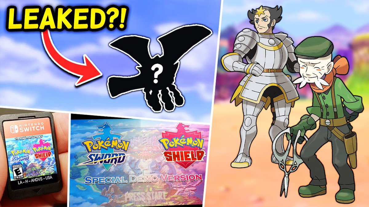 Aero On Twitter Potential Leaked Generation 8 Pokemon Kalos