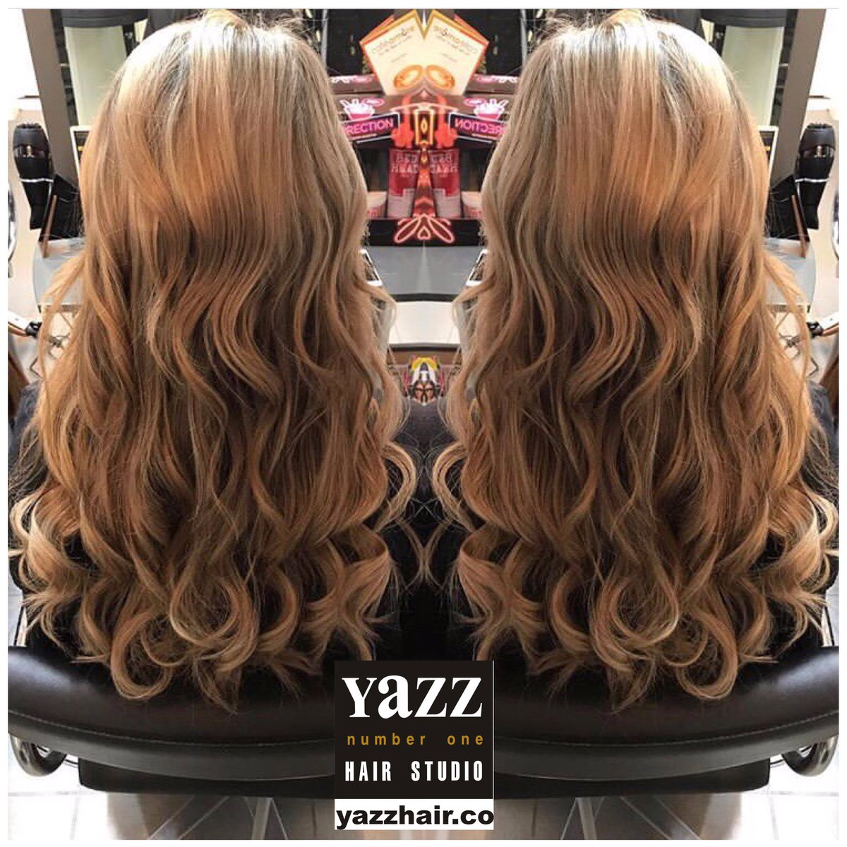 ⚫️HAIR EXTENSIONS⚫️ Would you like longer thicker hair?  Look at Annabelle's great work done today!  For a complimentary consultation with Annabellle Harpin our #GreatLengths Specialist call: Yeadon 0113 3910888 #greatlengthsuk #coldfusionhairextensions #yazzhair