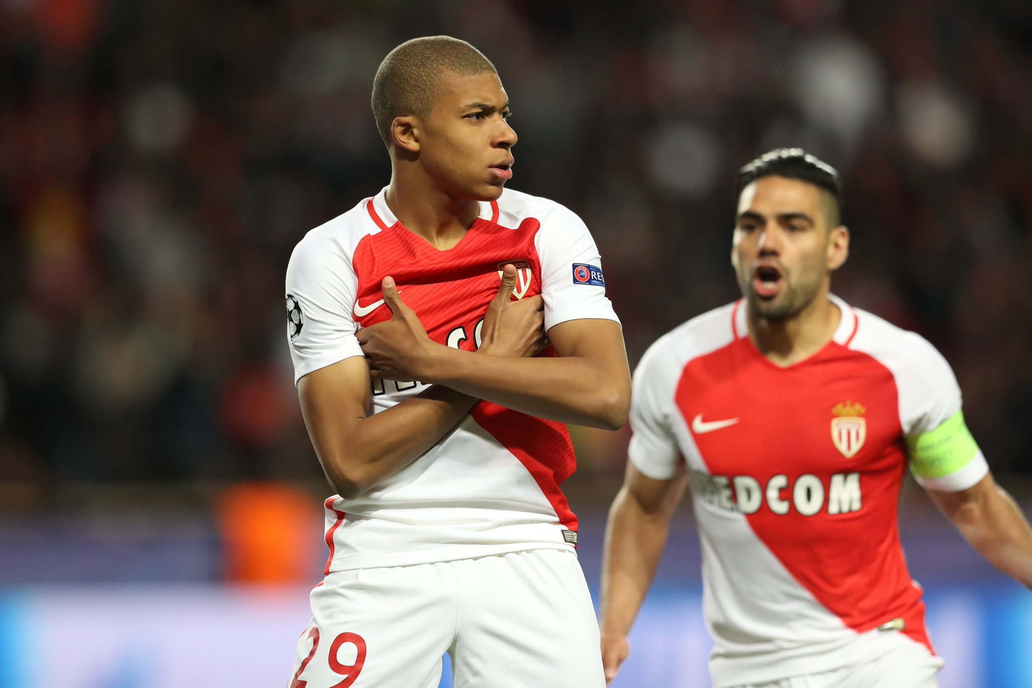 Squawka News On Twitter Monaco Forward Carlos Vinicius Bring The Arms Crossed Celebration Back To The Stade Louis Ii We Ve Seen That Before Https T Co 3kez8lgtzs
