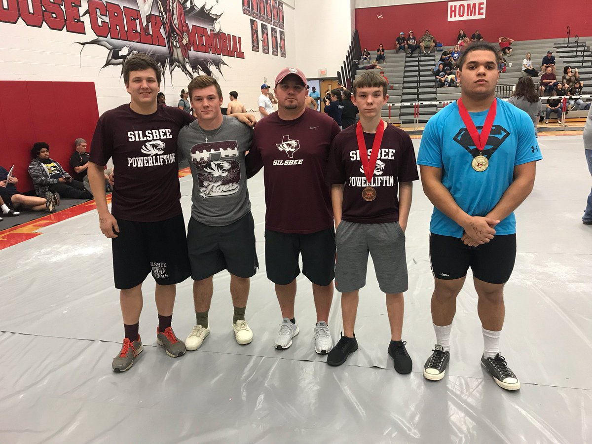 Congrats to Silsbee Powerlifting!   Marquell Hale has qualified for the state powerlifting meet with a Gold Medal today at the Regional Powerlifting Meet! #TigerNation