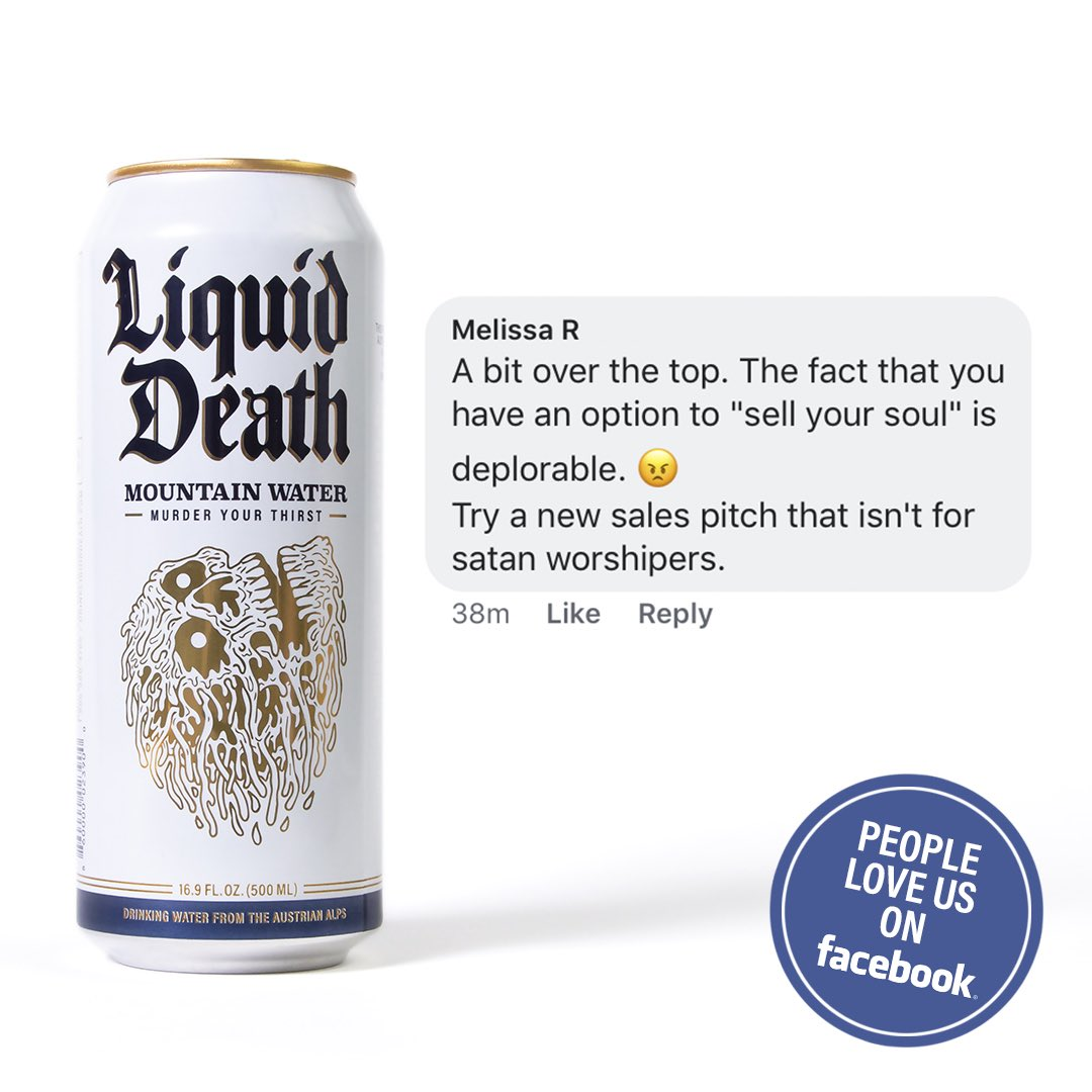 These aluminum cans are totally metal: Liquid Death sells water to punks who are too cool for alcohol