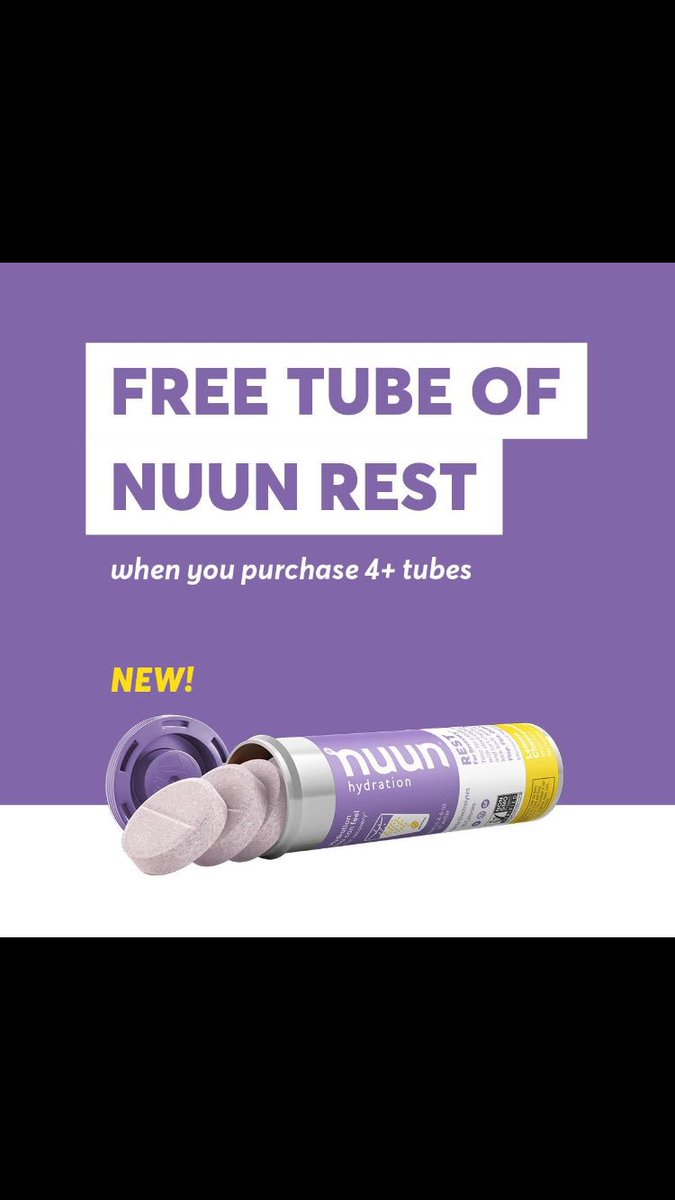 Want to try a free tube of #nuunrest?   Buy 4 tubes and use code nuunrest at check out! Now how much #nuunlove  is that? @nuunhydration #makeyourwatercount #nuunlife #<br>http://pic.twitter.com/fQjj10iJc3