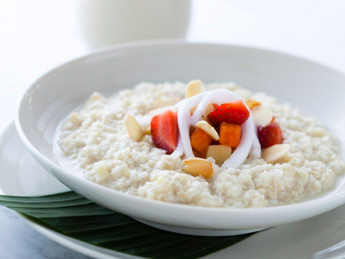 Рисовая Диета Завтрак.