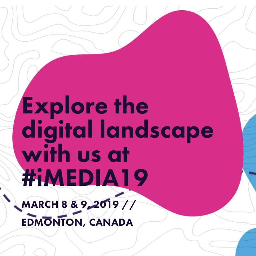 So grateful for everything learned  at @iMEDIA_yeg. Be on the lookout for new content from us coming soon! #imedia19