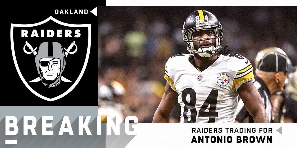 NFL's photo on Antonio Brown