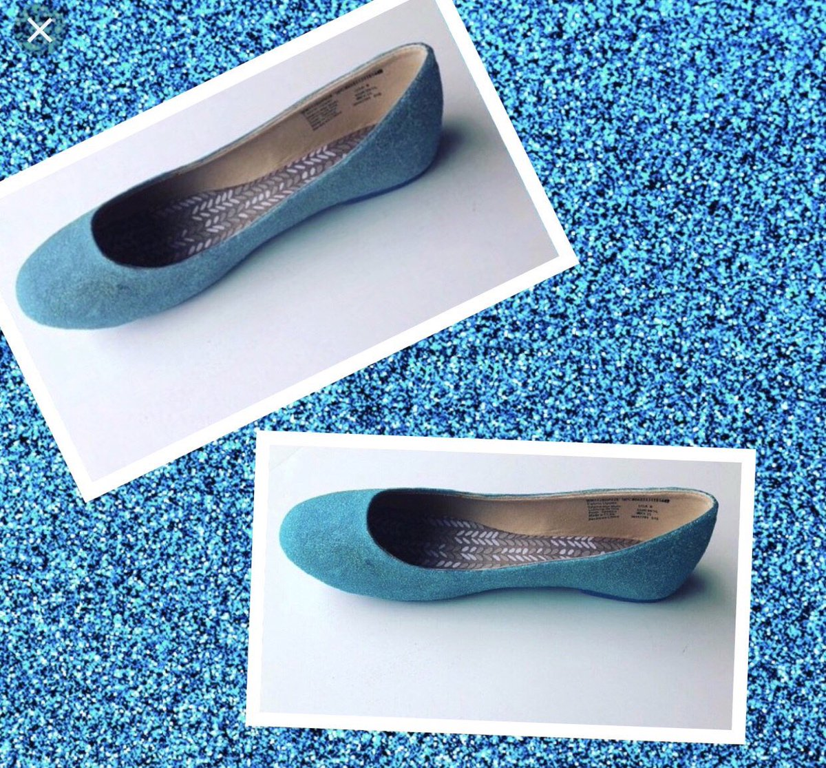 4ff3e60b6 Excited to share this item from my  etsy shop  Blue Wedding Flat Women  Custom