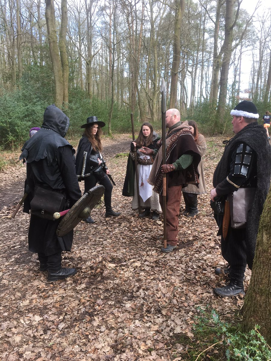 Yesterday we ran our first Live Action Role-play Of 2019; it was a tough and brutal day in the beautiful Surrey hills. After 8 miles and a single player death the party returned victorious. #larp #guildford #surrey #larping #fantasy #warhammer #geek #nerd