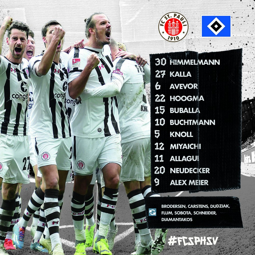 FC St. Pauli's photo on #Derby