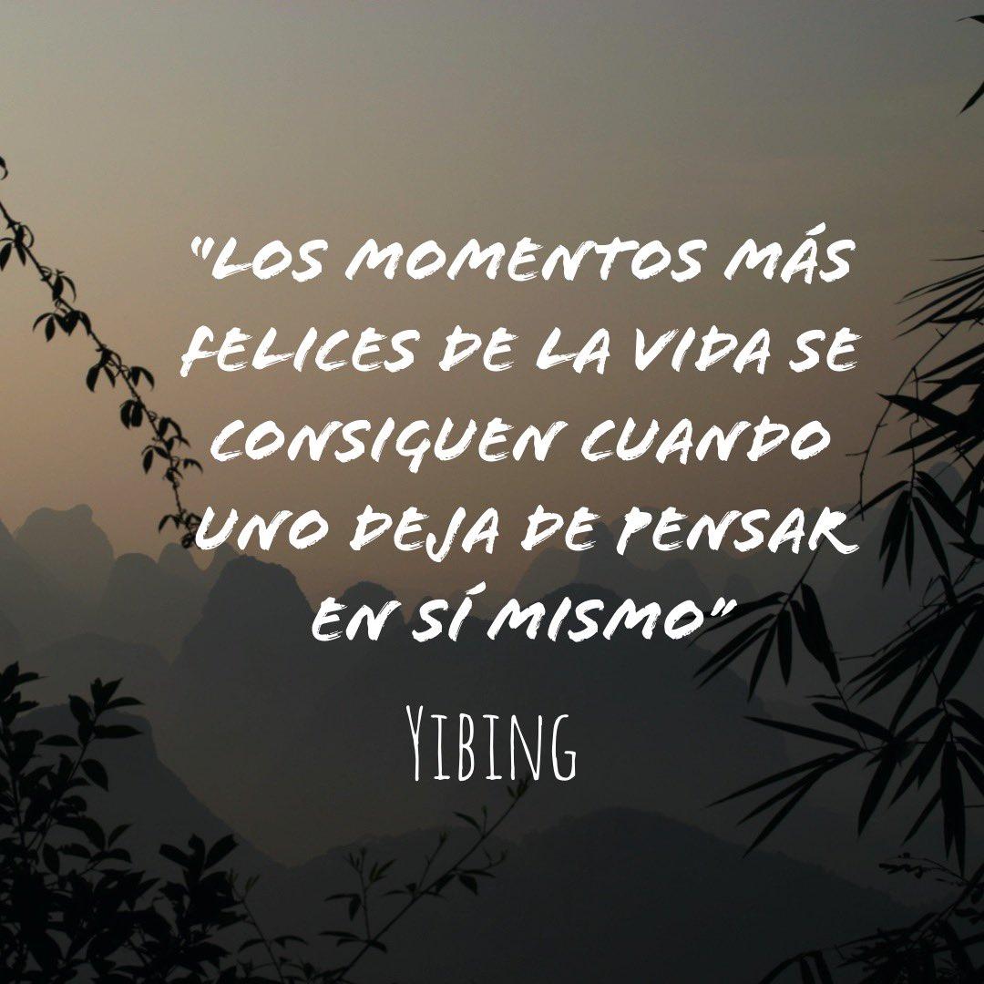 Yibing Momentos Felices Vida Deja Pensar Yibing