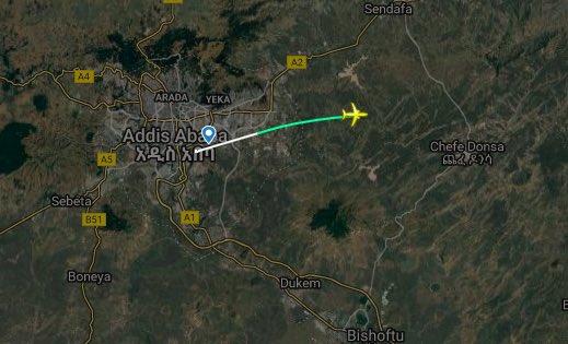 Se estrella un avión de pasajeros Boeing 737 de Etiopía cuando volaba a Kenia, 157  muertos D1SKpa2XgAEcf_L