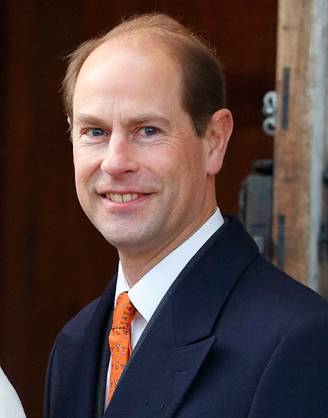 A very Happy Birthday to HRH Prince Edward, The Earl of Wessex.