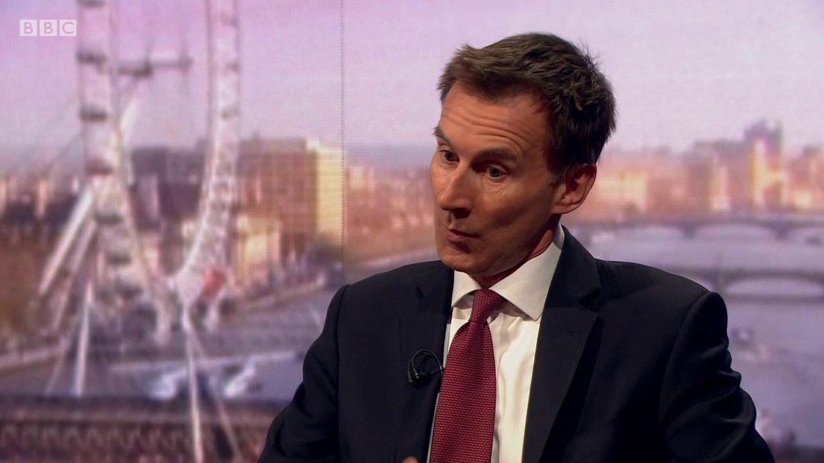 BBC Politics's photo on Jeremy Hunt