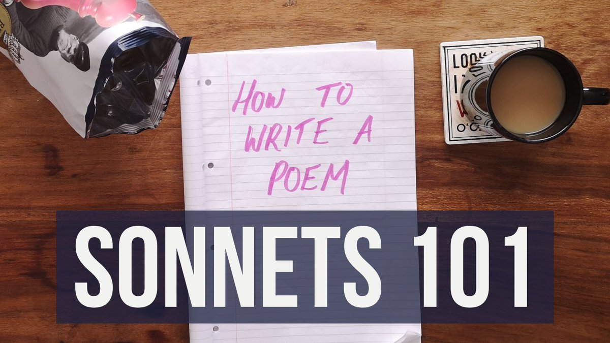 how to write a sonnet