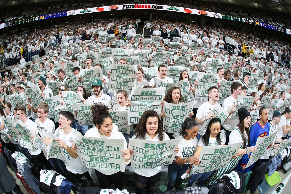 Best fans in the country. THANK YOU @ThisistheIZZONE! #GoGreen