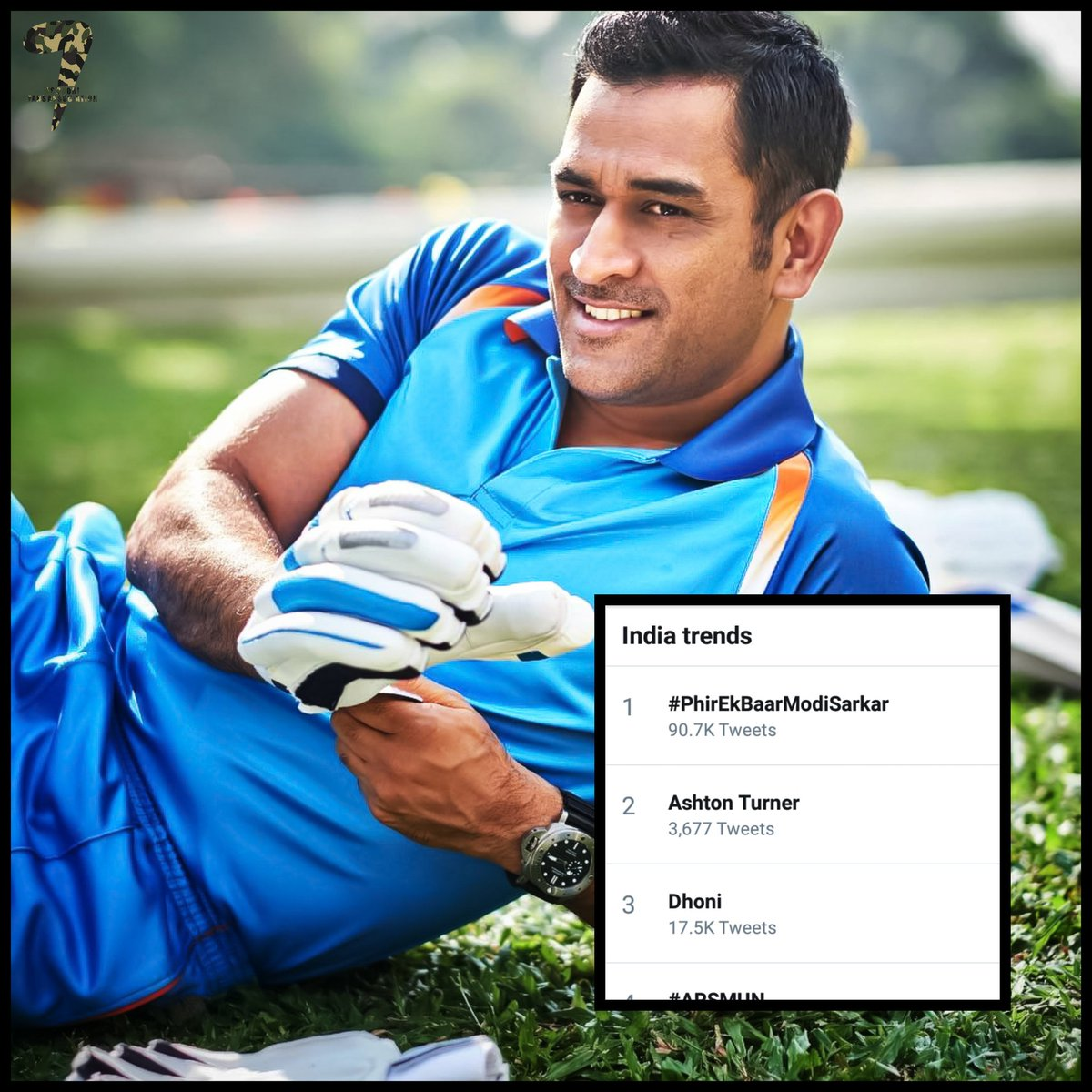 MS Dhoni Fans Official's photo on Dhoni
