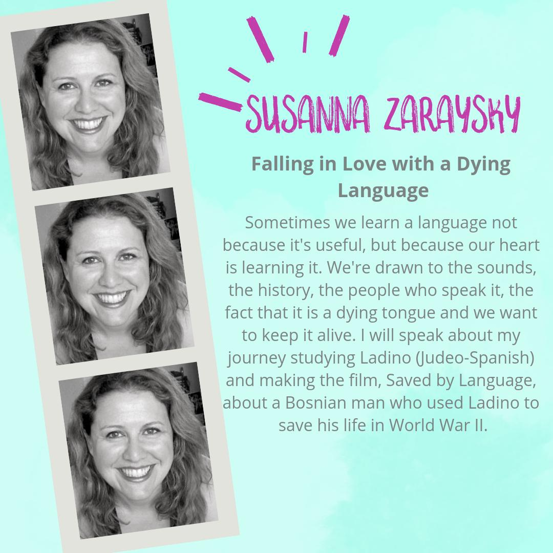 Falling in love can start with a look or a wink or a word...renowned author @languageismusic shares her unique story of language love today at Women in Language - hear it live at 17:00 GMT or catch up with a ticket from womeninlanguage.com