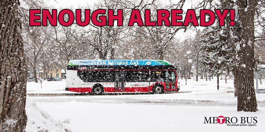 St. Cloud Metro Bus's photo on #snow