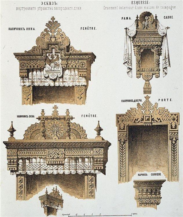 Eighteenth century Russian architectural design